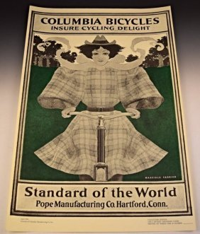 Maxfield Parrish, Columbia Bicycles
