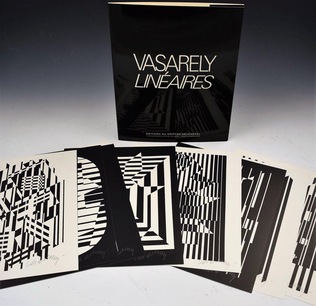 Victor Vasarely Signed Portfolio