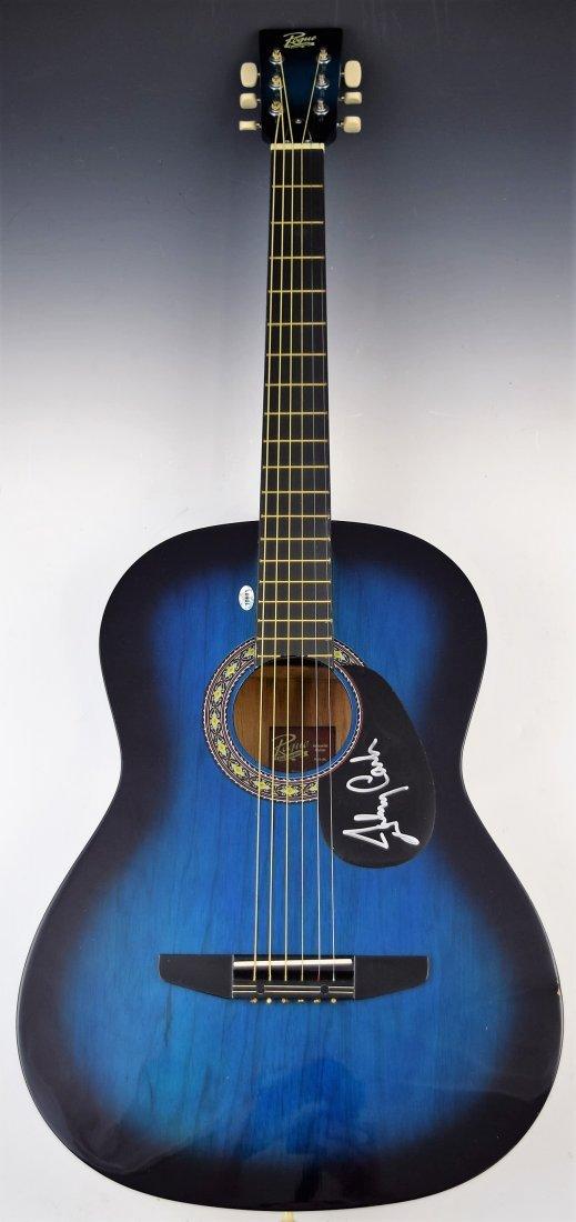 Johnny Cash Signed Guitar