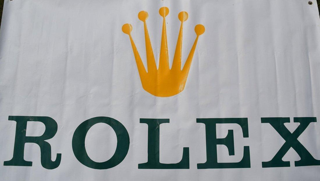 Vintage Rolex Banner - 2