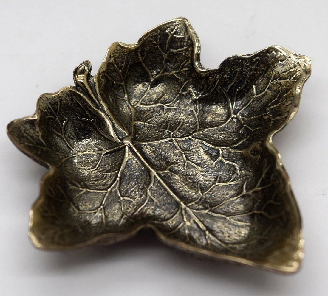 Buccellati Sterling Silver Leaf