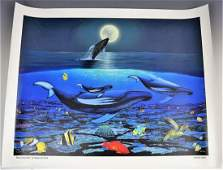Robert Wyland Signed Limited Edition Giclee