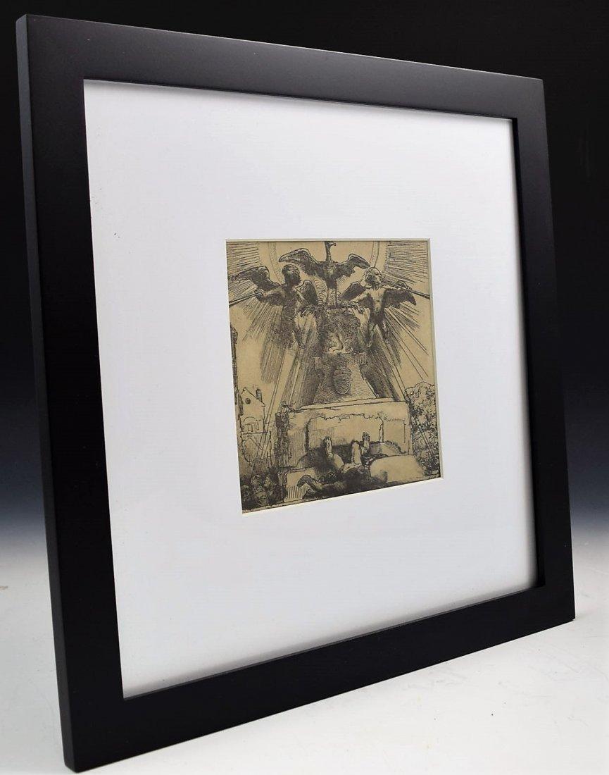 Rembrandt Etching - 3