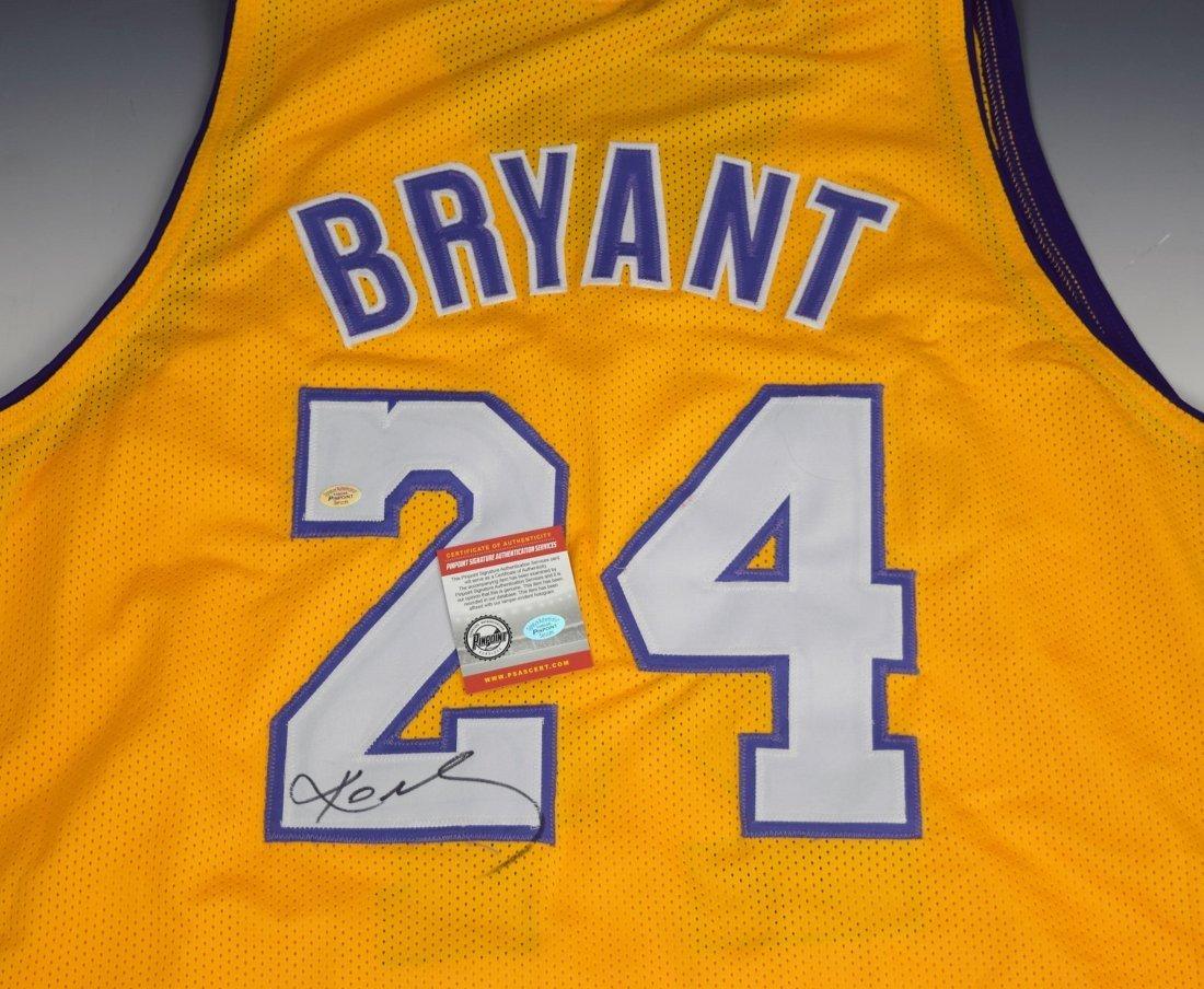 Kobe Bryant Signed Jersey - 2