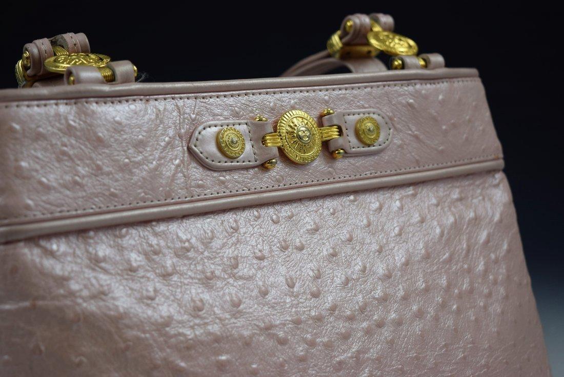Vintage Gianni Versace Ostrich Bag - 2