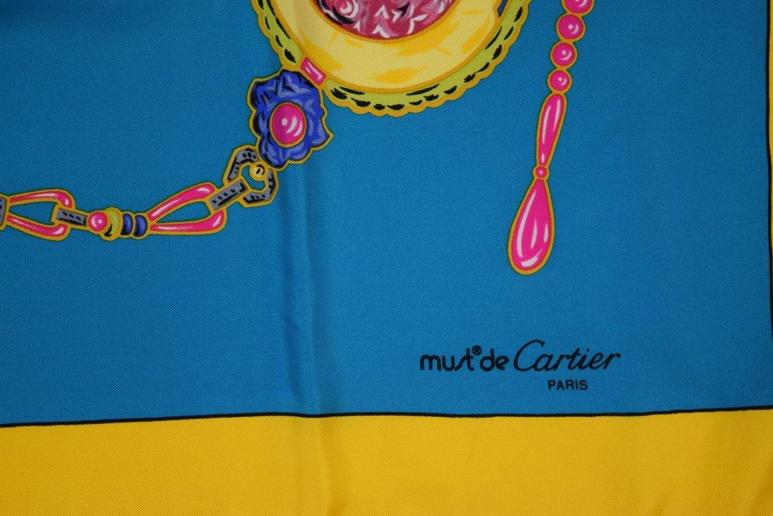 Cartier Silk Scarf - 2