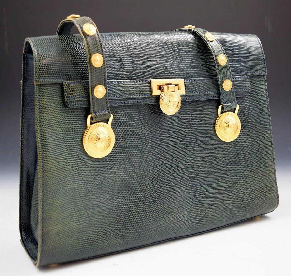 Vintage Gianni Versace Lizard Bag