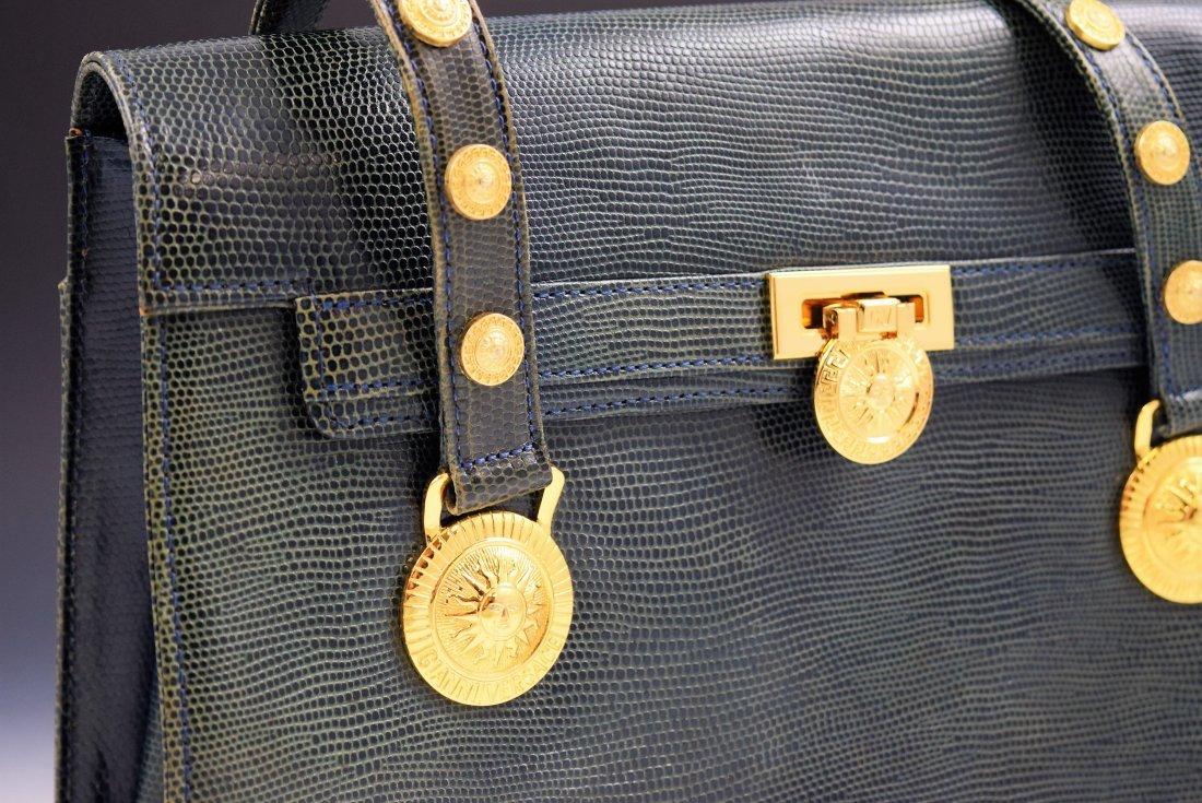 Vintage Gianni Versace Lizard Bag - 2