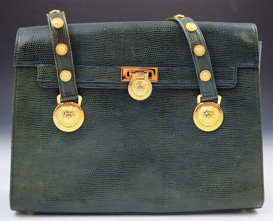 Vintage Gianni Versace Lizard Bag - 3