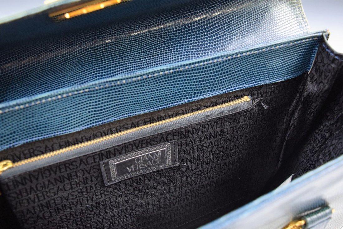 Vintage Gianni Versace Lizard Bag - 4