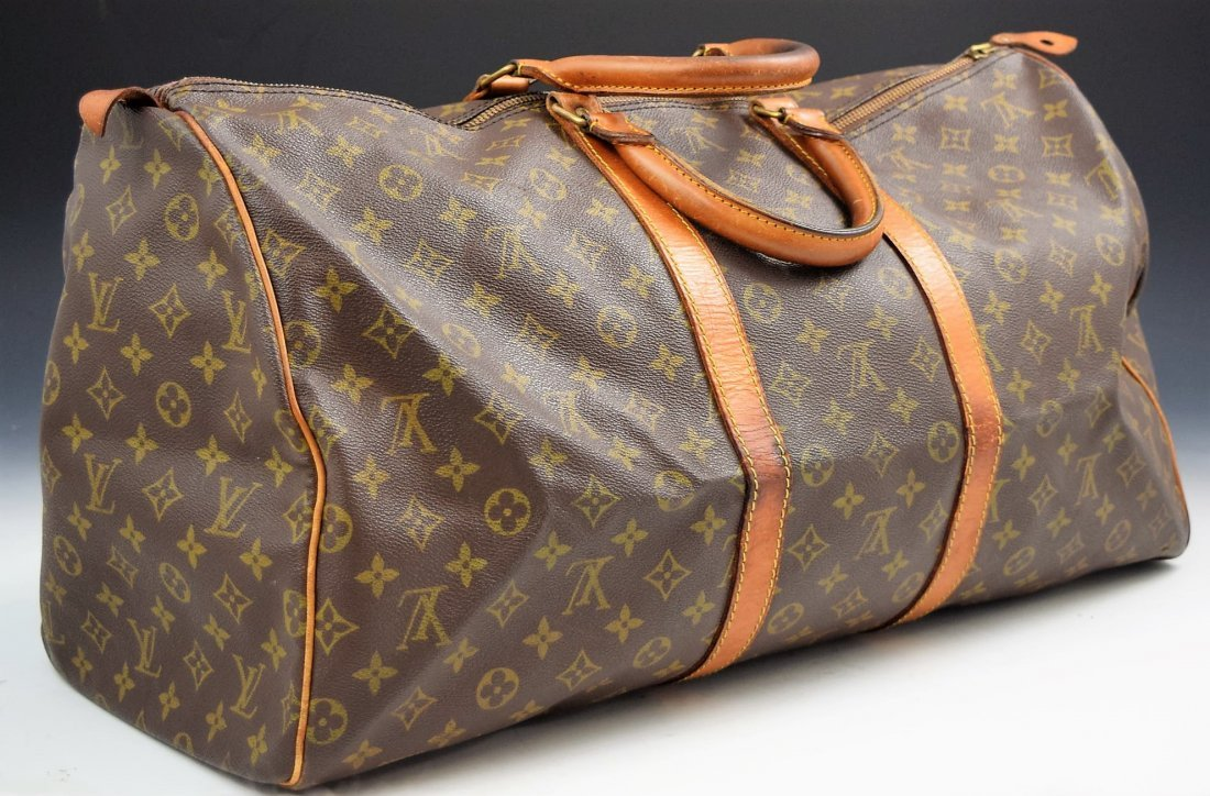 Louis Vuitton Keepall 55 Travel Bag