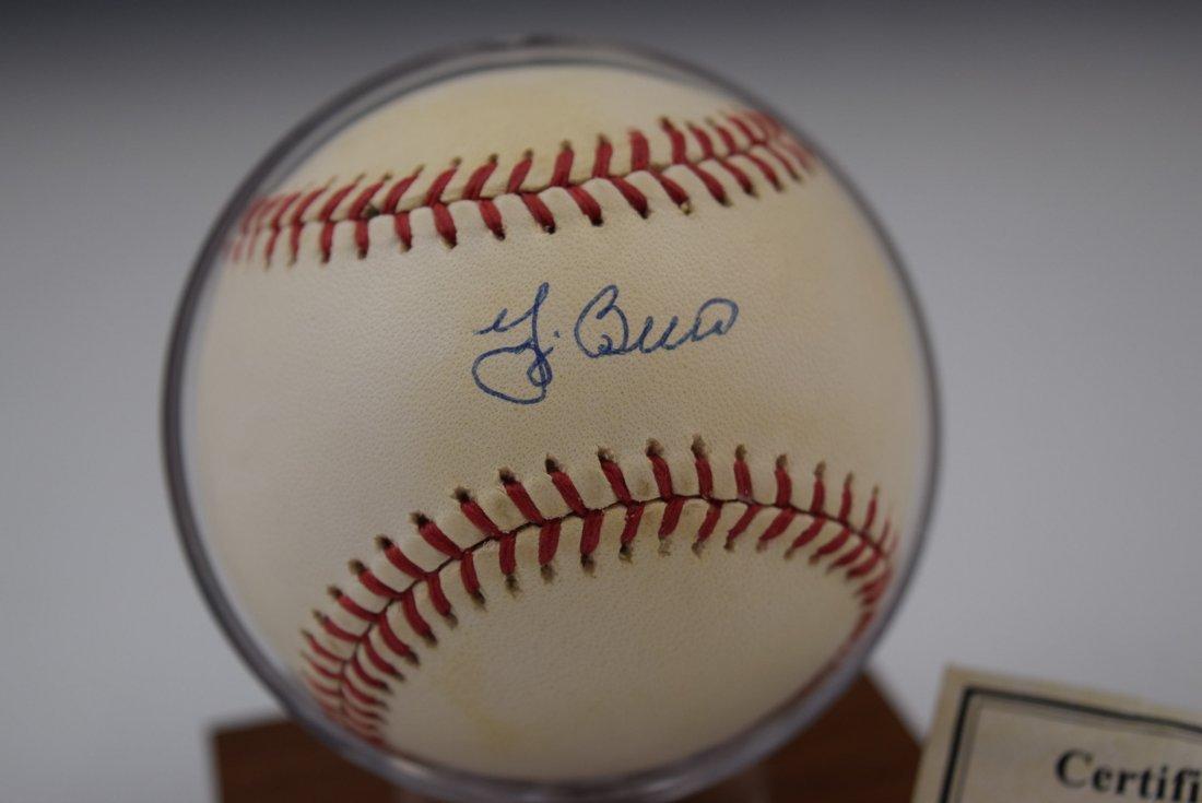 Yogi Berra Signed Baseball - 3