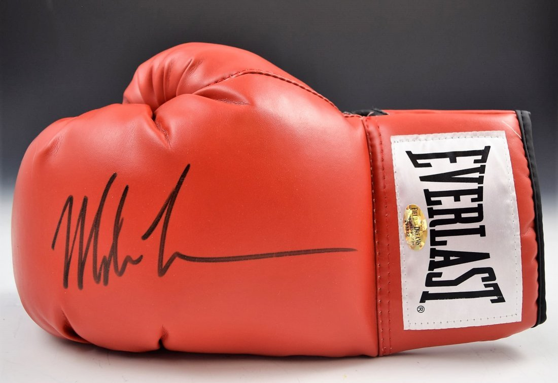 Mike Tyson Glove Autograph