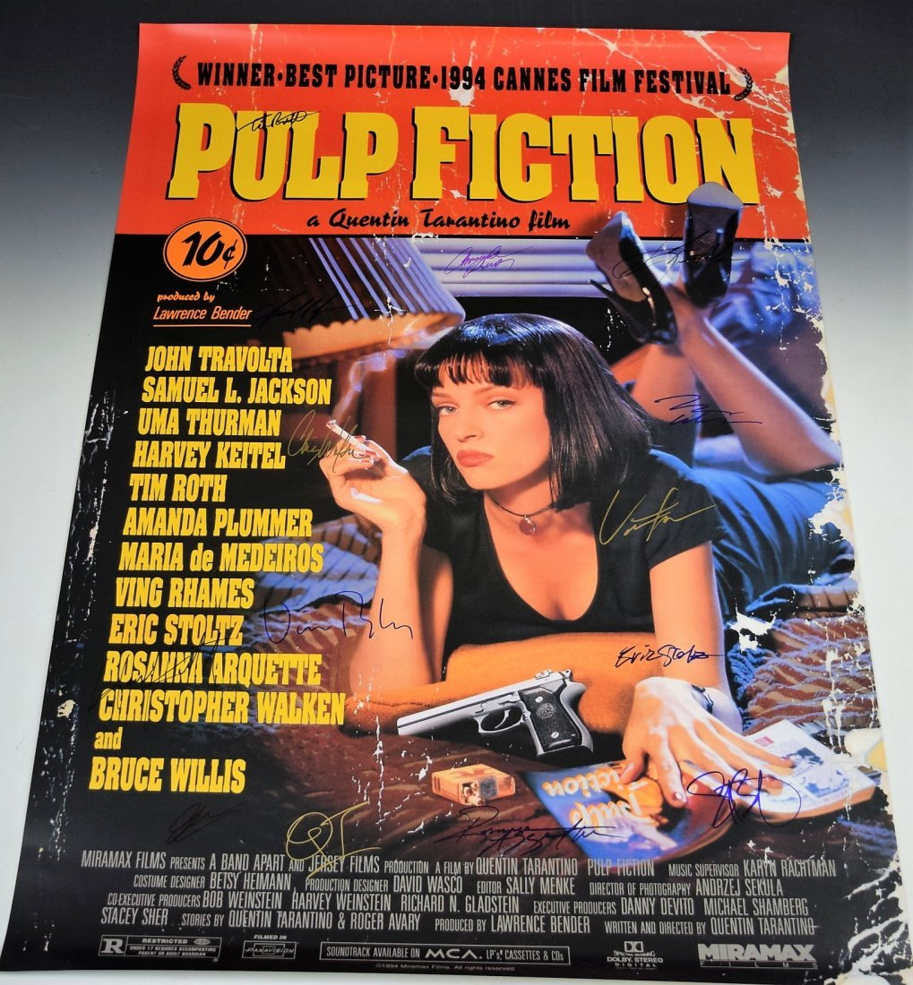 Movies Excellent condition replica PULP FICTION MOVIE Poster ...