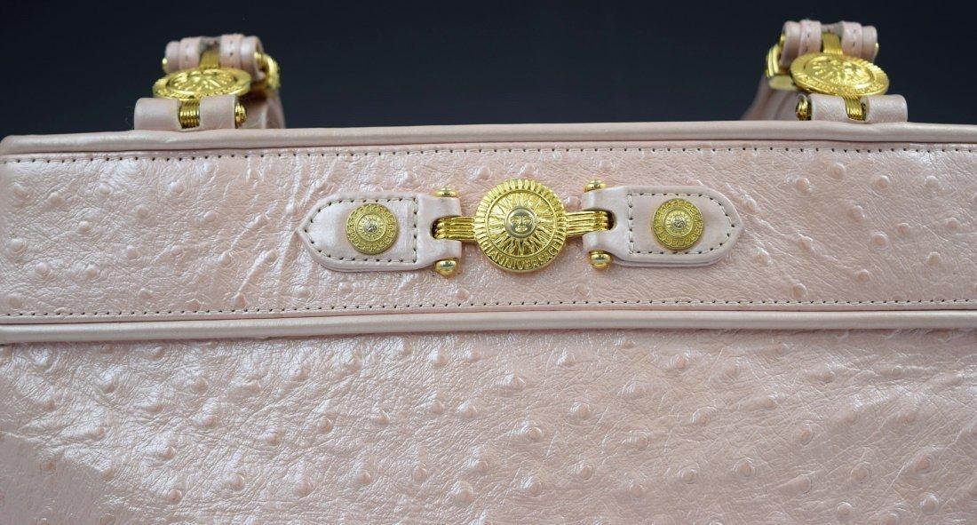 Vintage Gianni Versace Ostrich Bag - 3