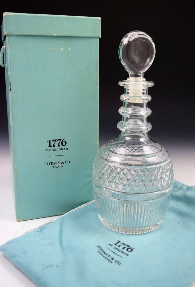 Tiffany & Co Crystal Decanter