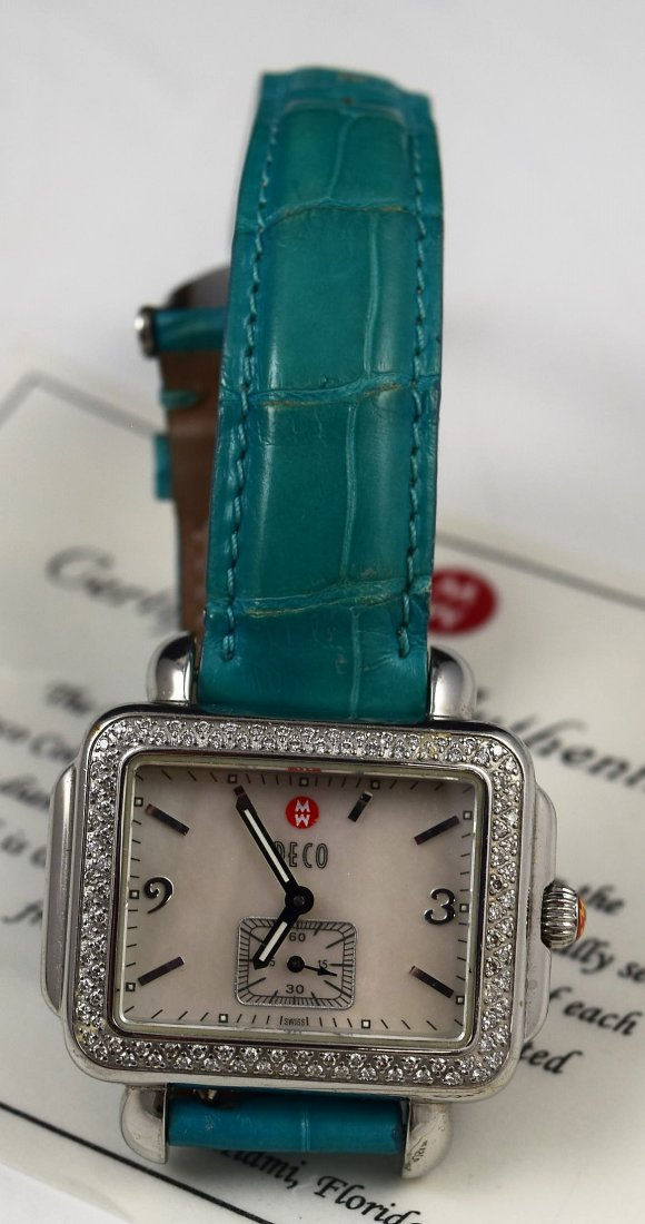 Vintage Michele Diamond Watch - 2