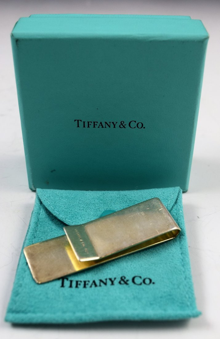 Tiffany & Co Sterling Silver Money Clip