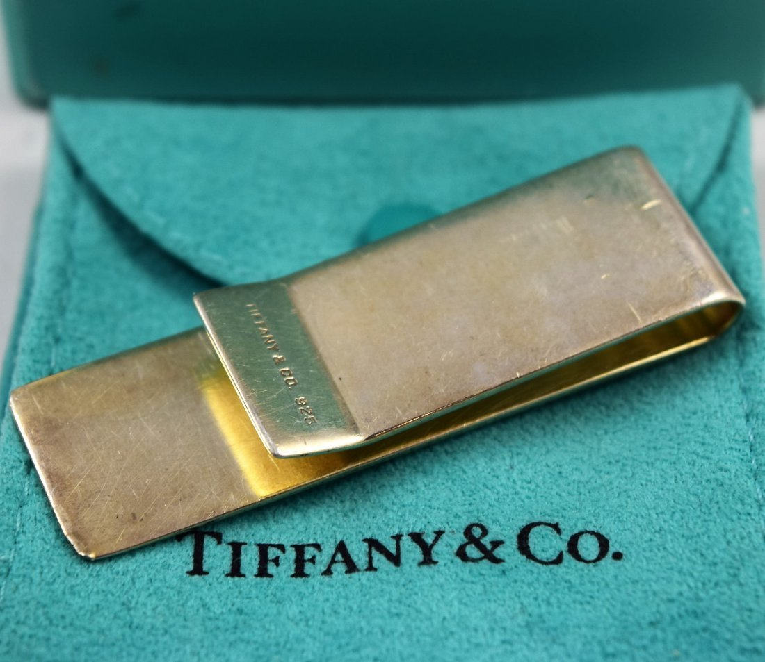 Tiffany & Co Sterling Silver Money Clip - 2