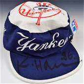 Keith Haring Signed Hat