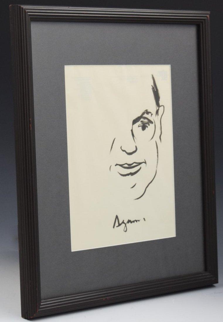 Yaacov Agam Drawing