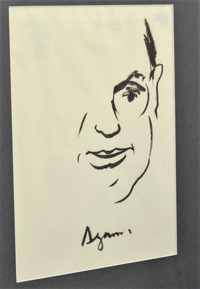Yaacov Agam Drawing - 2