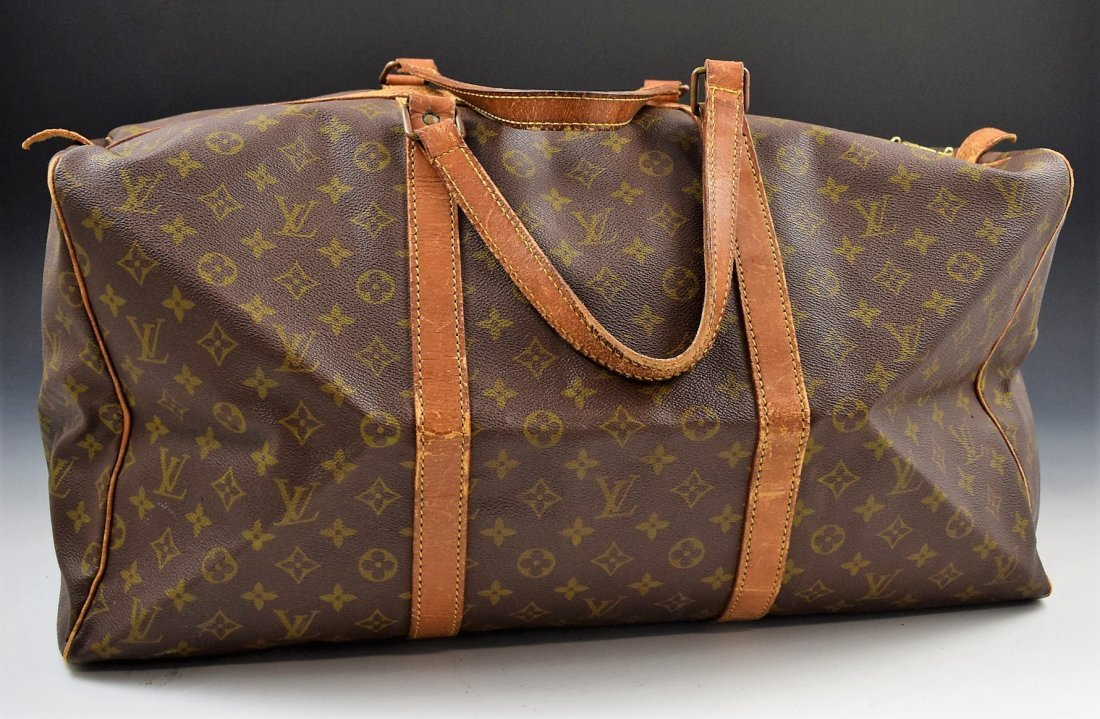 Louis Vuitton Keepall 55 Travel Bag