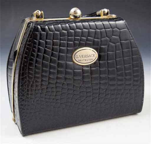 Vintage Gianni Versace Handbag See Sold Price