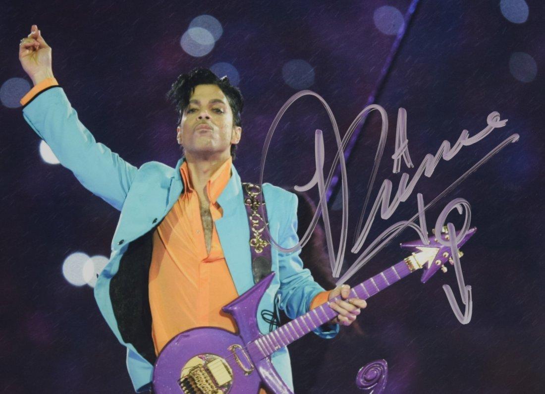 Prince Autograph Photo - 2