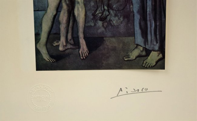Pablo Picasso Signed - 2