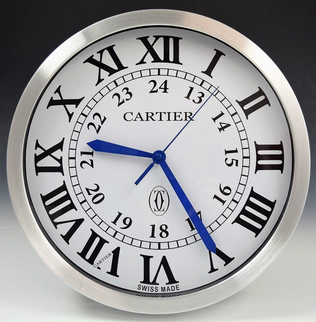 Cartier Showroom Dealer Clock