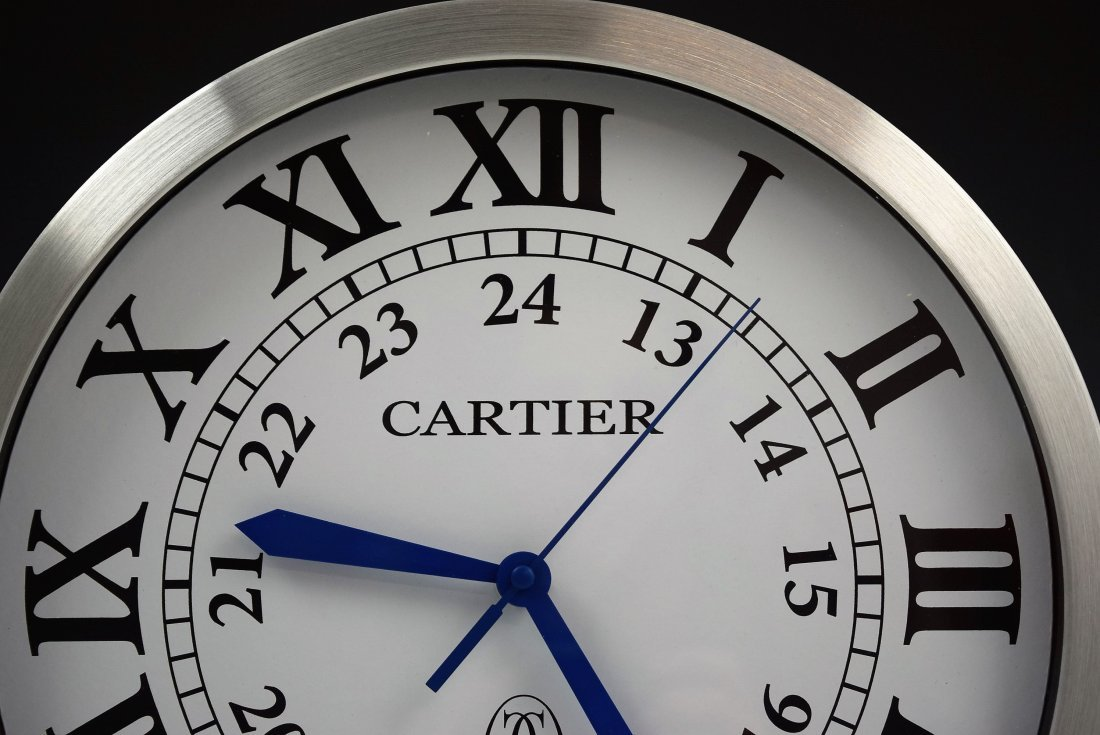 Cartier Showroom Dealer Clock - 2