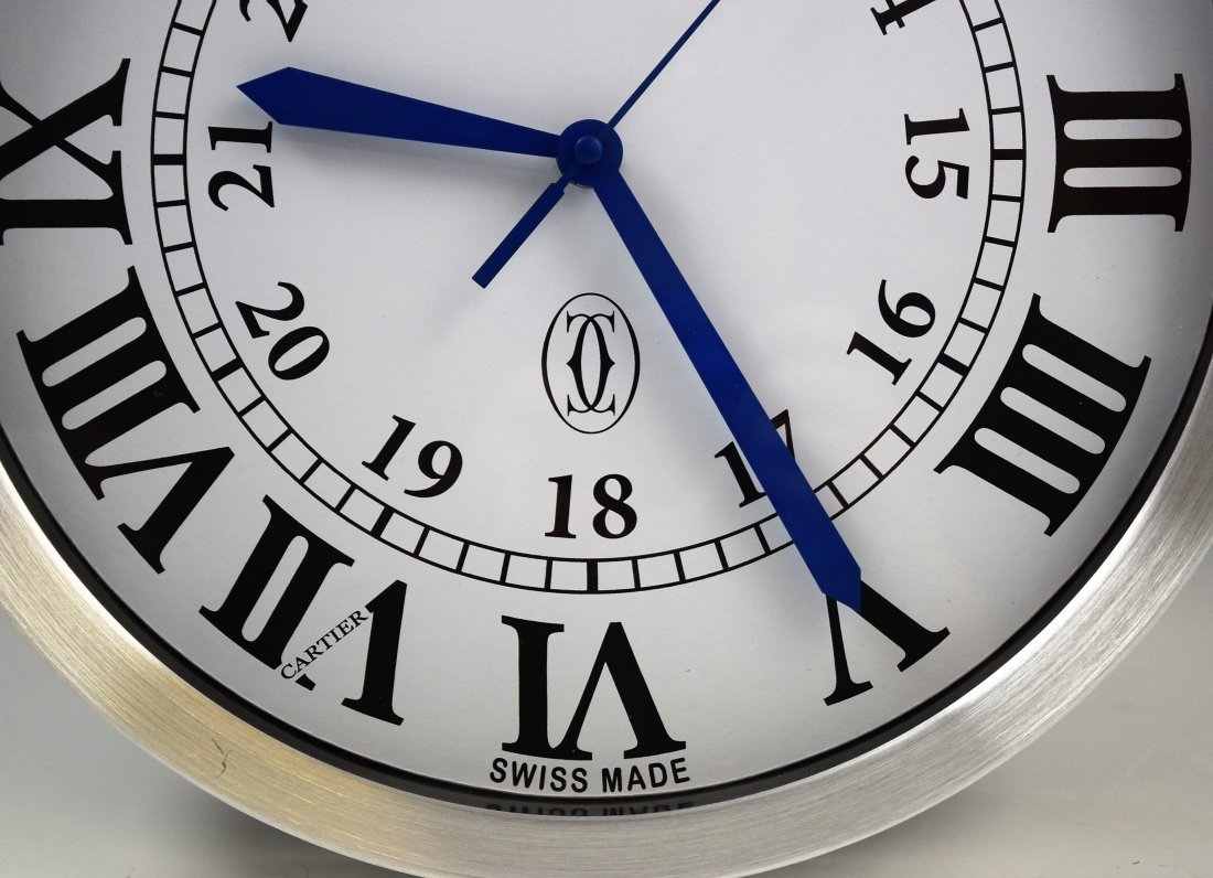 Cartier Showroom Dealer Clock - 3