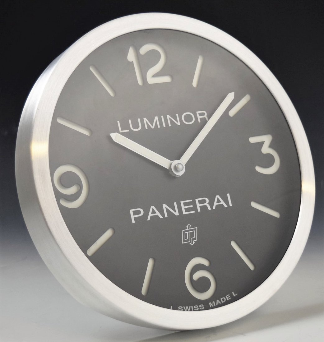 Panerai Showroom Dealer Clock