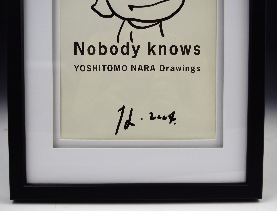 Yoshitomo Nara Drawing - 4