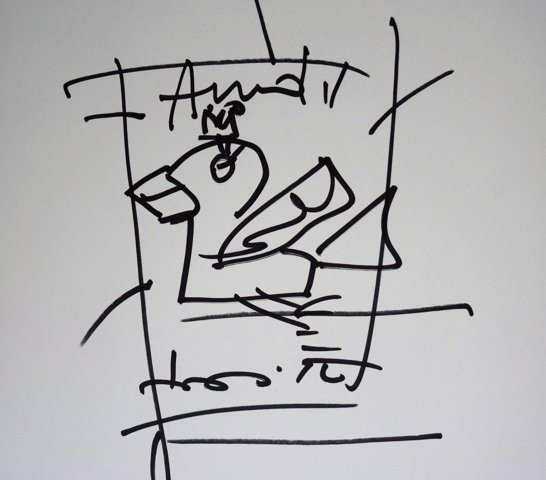 Romero Britto Drawing - 2