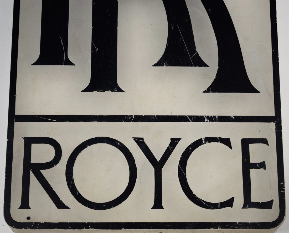 Rolls Royce Vintage Dealer Sign - 3
