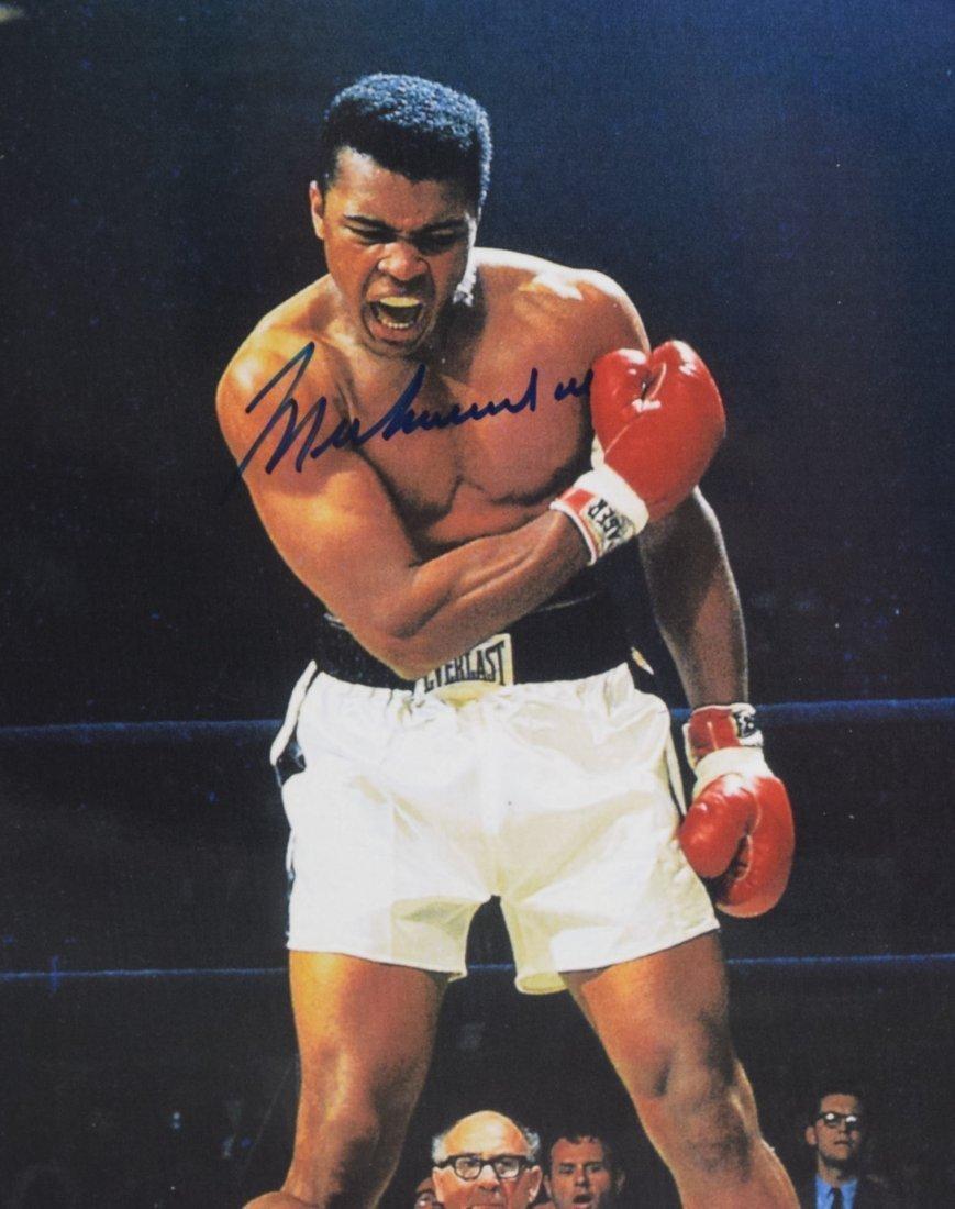 Muhammad Ali Signed Photo - 2