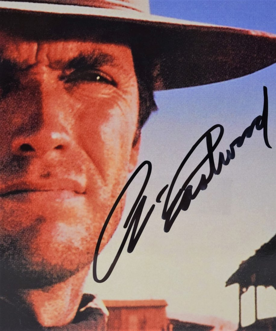 Clint Eastwood Signed Photograph - 2