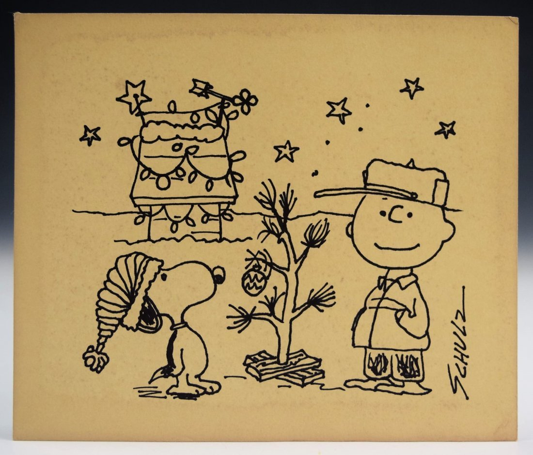 Charles Schulz Drawing