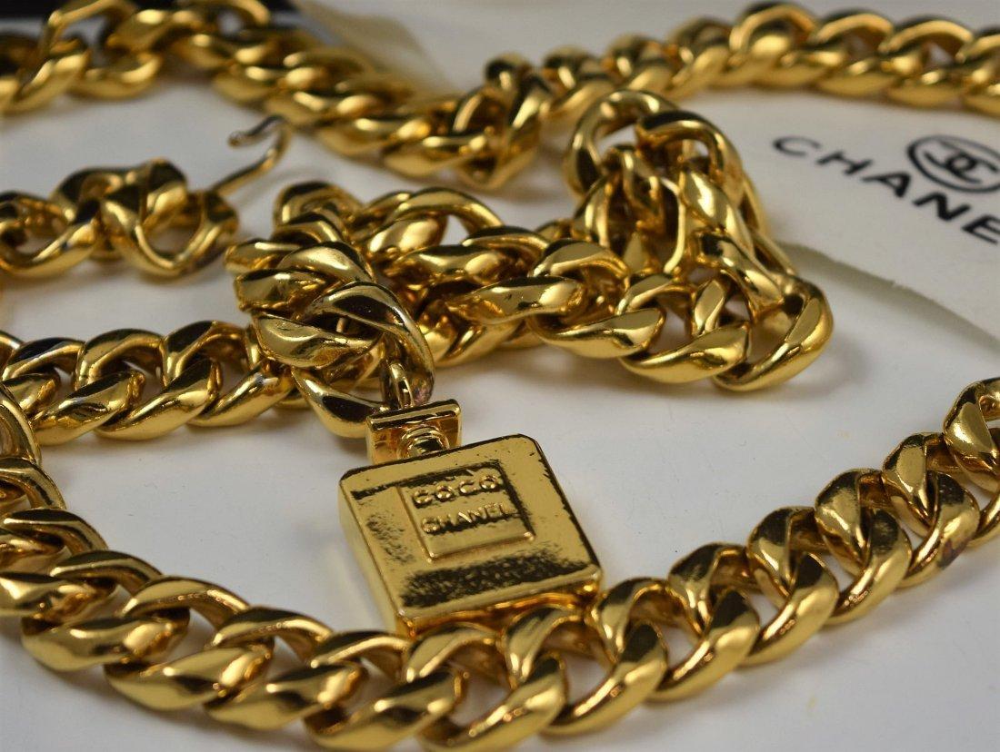 Vintage Chanel Chain Belt - 2