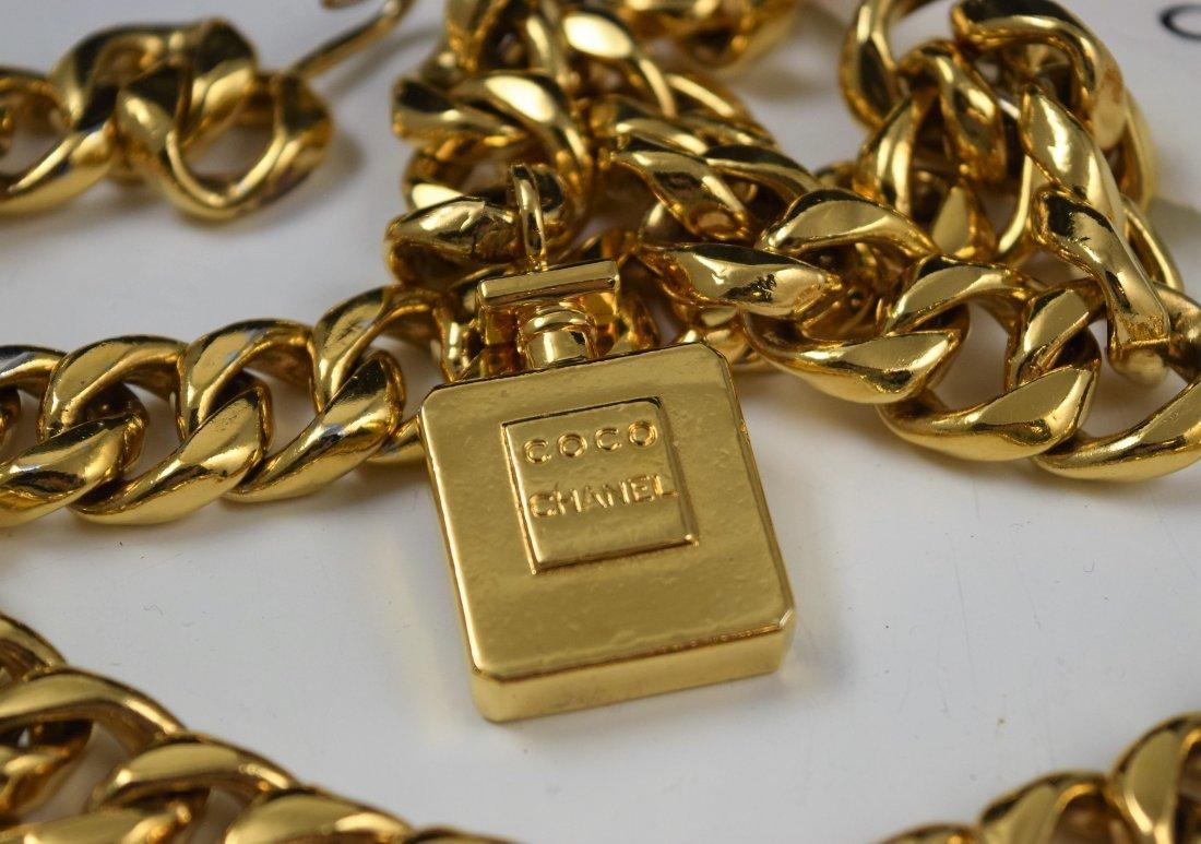 Vintage Chanel Chain Belt - 3