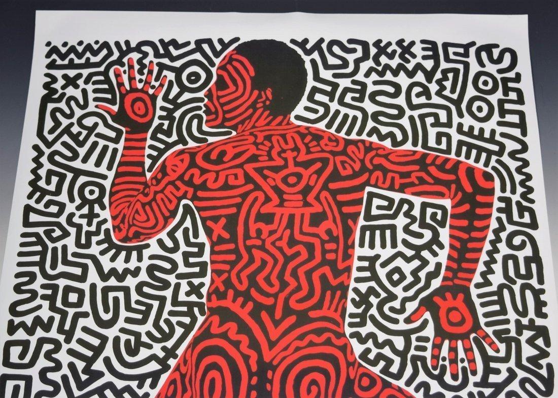 Keith Haring, Tony Shafrazi Exhibition Poster - 2