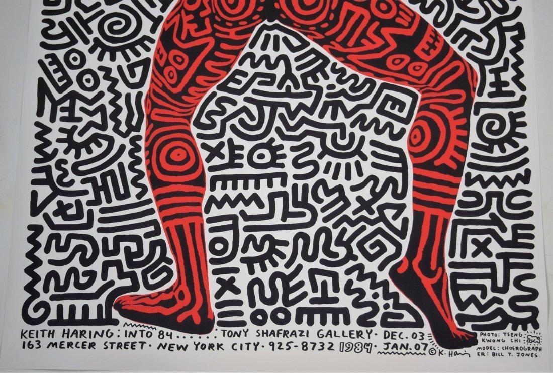 Keith Haring, Tony Shafrazi Exhibition Poster - 3