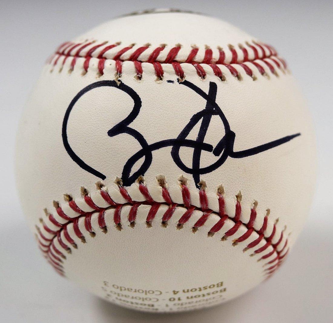 Obama Signed Baseball
