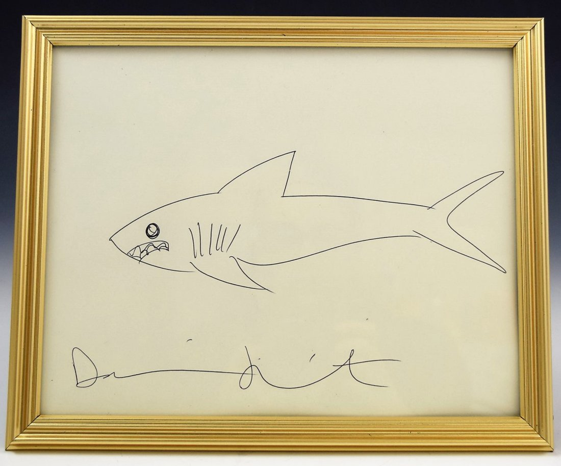 Damien Hirst Drawing