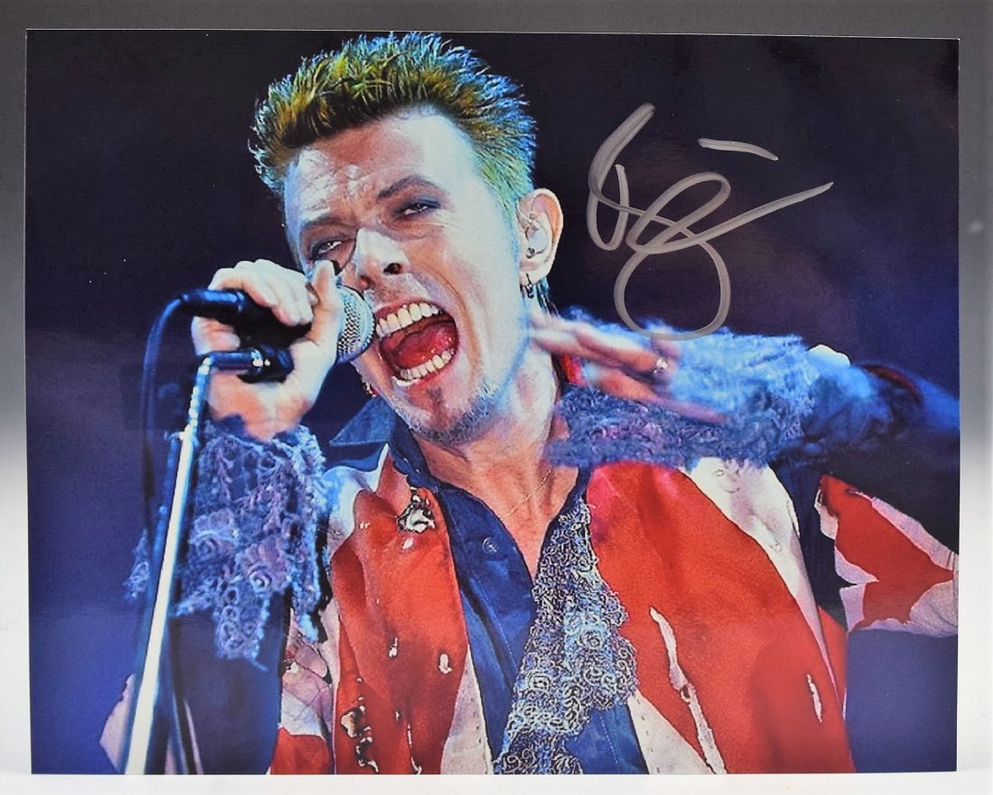 David Bowie Signed Photograph