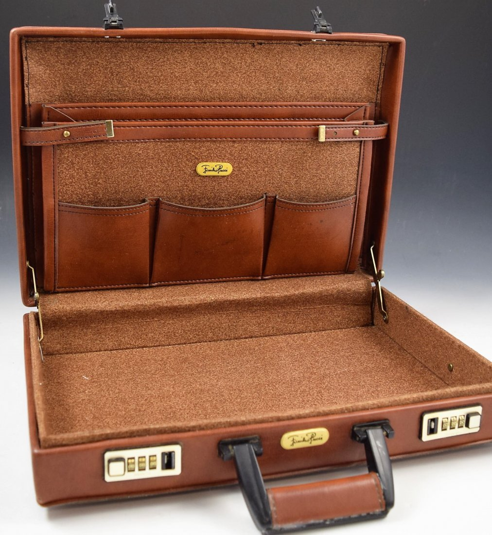 Emilio Pucci Leather Briefcase