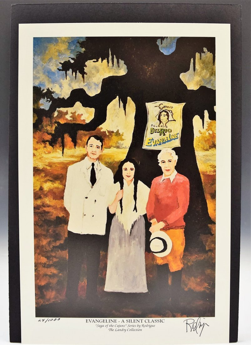 George Rodrigue Signed
