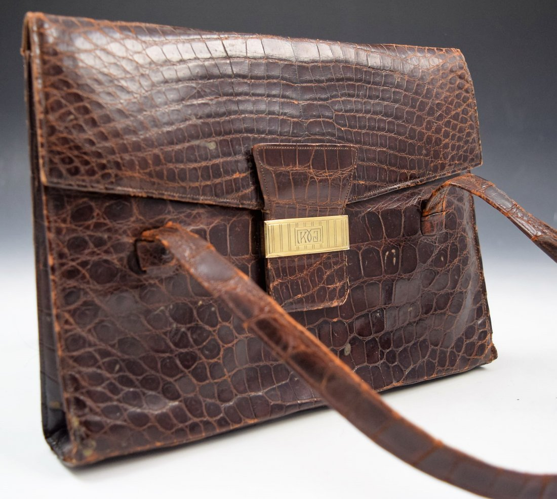 Cartier Alligator Handbag